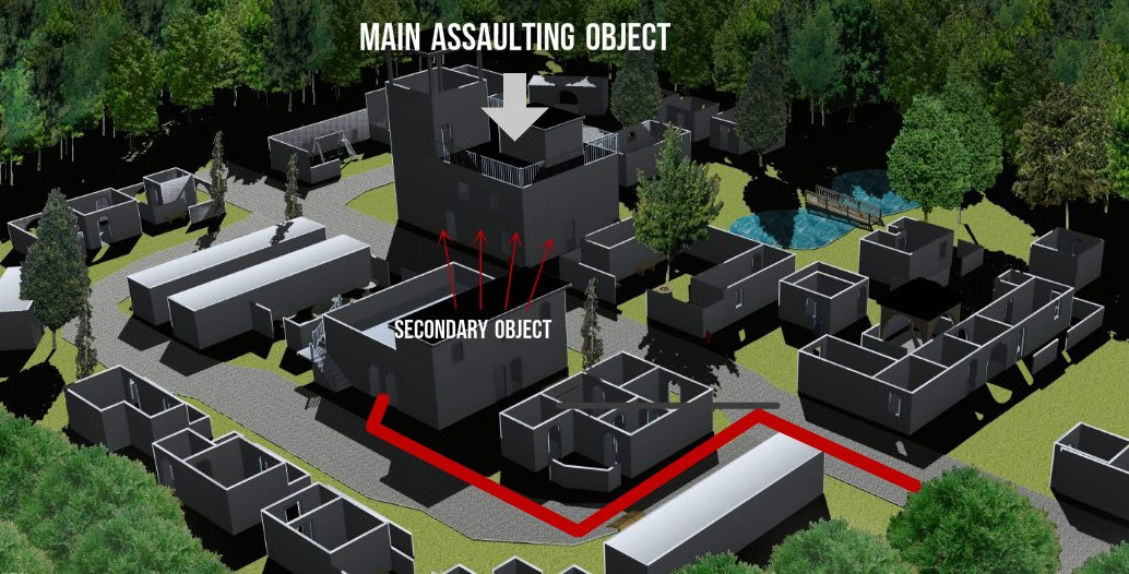 Lasertag tactics Infiltration