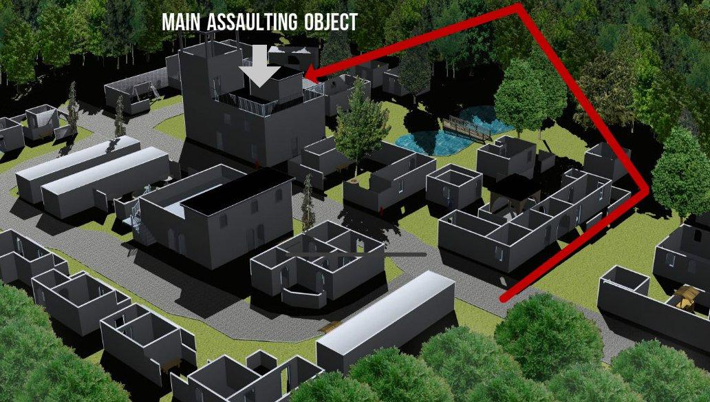 Lasettag tactics Oblique order attack